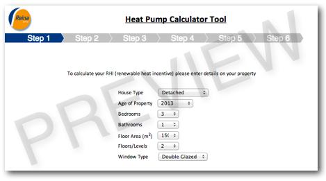 RHI Calculator - Renewable Heat Incentive